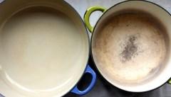 Скорая помощь для пригоревших кастрюль