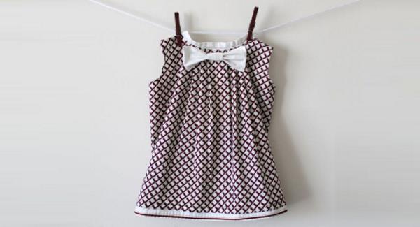 Как быстро накрахмалить детское платье?