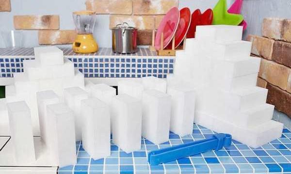 Kак пользоваться меламиновыми губками? Что и как чистить