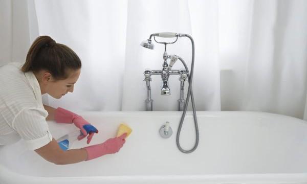 Как очистить ванну в домашних условиях: удаляем налет, ржавчину, плесень и загрязнения