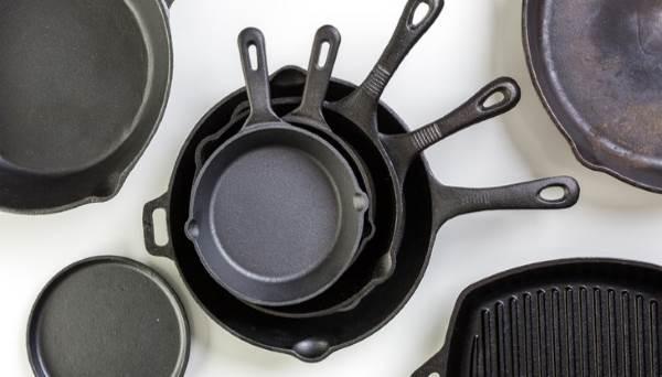 Как прокаливать чугунную сковороду или делаем настоящую чугунную красавицу